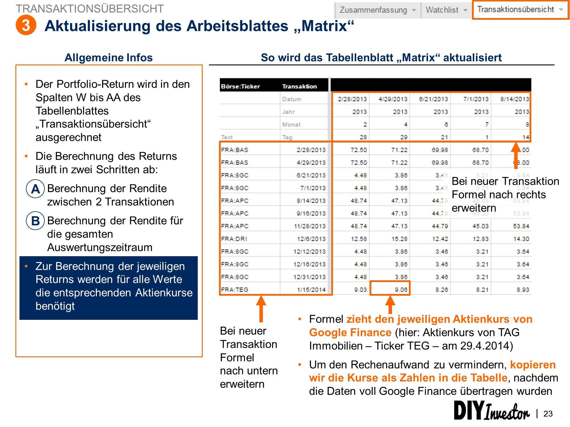 update-matrix-tabelle