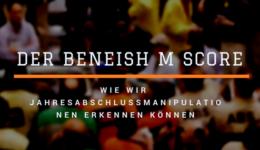 Beneish M Score