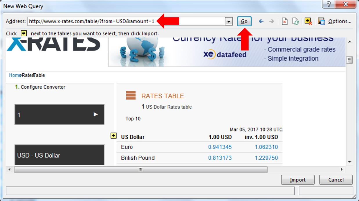 Aktuelle Wechselkurse Direkt Nach Excel Importieren Diy