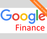 Google Finance: Historische Kursdaten in Excel
