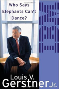 Buch-Review: Who Says Elephants Can't Dance?