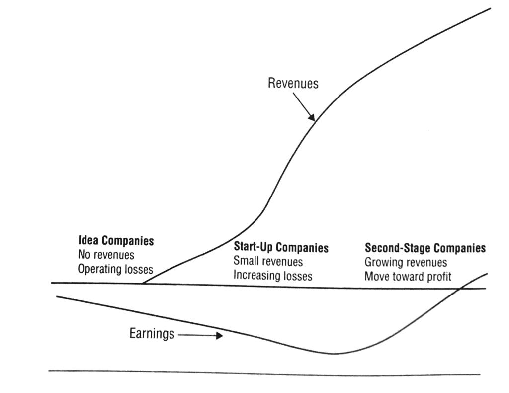 Life Cycle Startup - Bewertung von Wachstumsfirmen