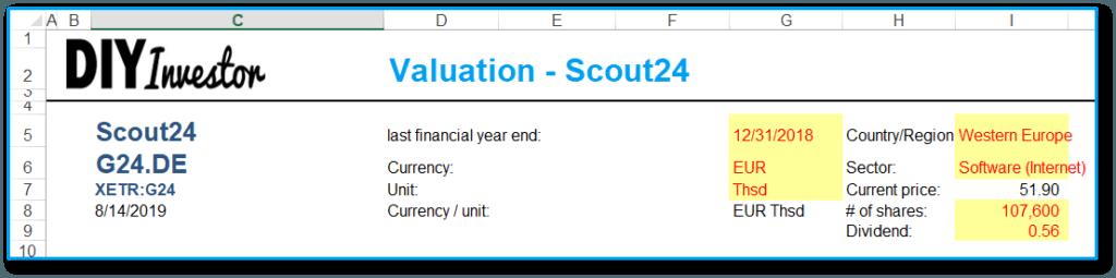 Excel Modell erstellen