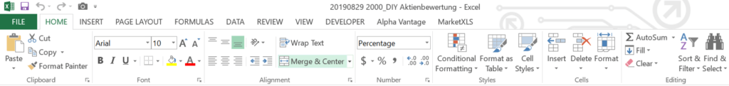 Excel Dashboard - Bedingte Formatierung