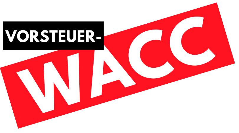WACC vor Steuern