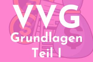 VVG - Cover Grundlagen Teil I