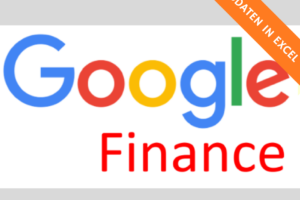 Google Finance Excel