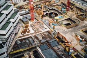 Bauprojekt - Hochtief Equity Stub Beispiel